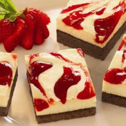 Recipe for Strawberry Cheesecake Brownies