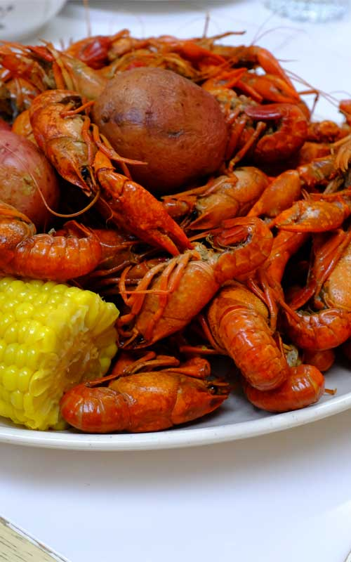 There are plenty of ways to enjoy crawfish, but if you want to be a purist, getting elbow-deep into a spicy New Orleans Crawfish Boil is definitely the way to go!
