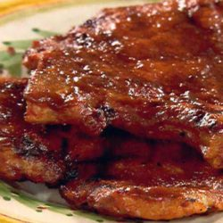 Recipe for Sweet and Spicy Pork Chops