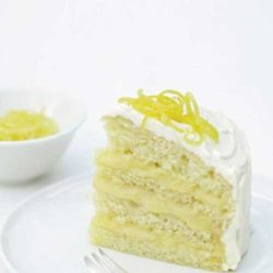 Recipe for Iced Lemon Curd Layer Cake
