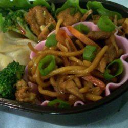Recipe for Authentic Pork Lo Mein