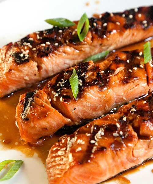 Recipe for Salmon Teriyaki