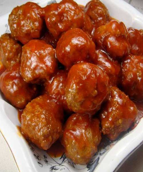 Recipe for Sweet and Sour Meatballs