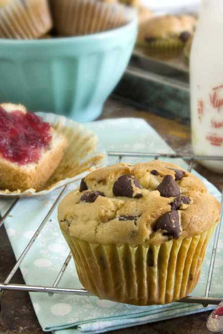 Buttermilk Chocolate Chip Muffins