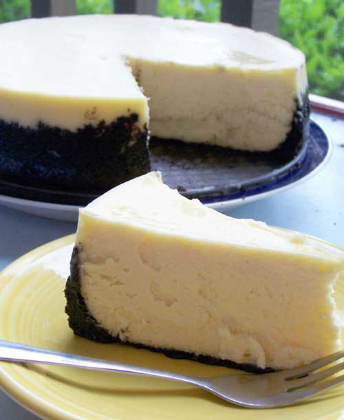 Recipe for Cheesecake Supreme