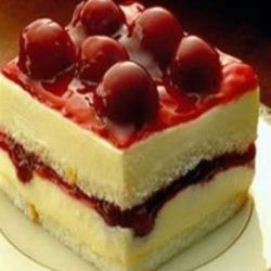 Recipe for Cherry Angel Cream Cake