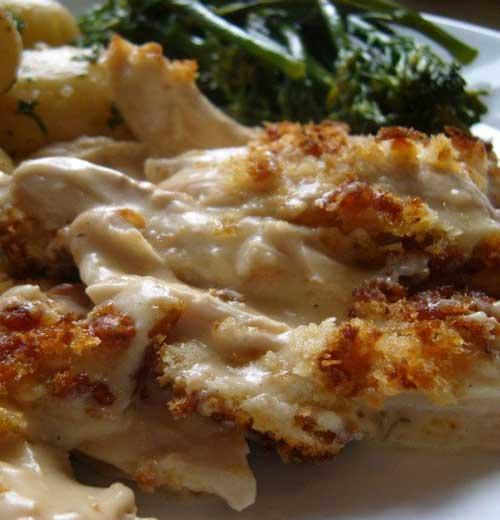 Recipe for Chicken Cordon Bleu Casserole