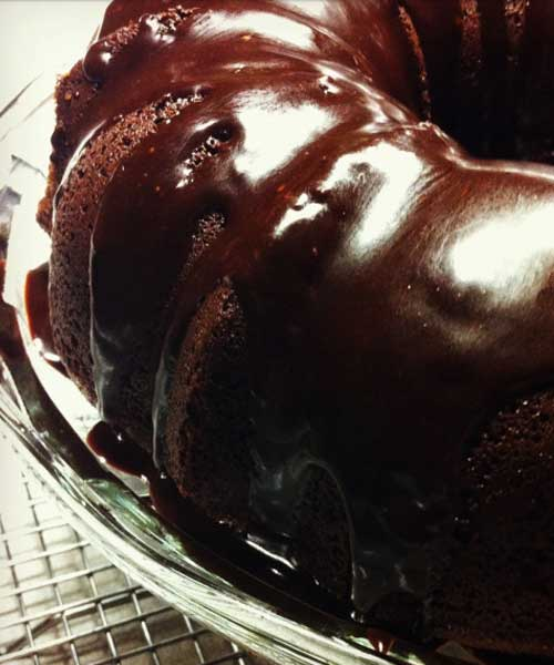 Recipe for Chocolate Sour Cream Bundt Cake