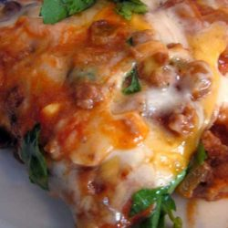 Recipe for Cheesy Enchilada Casserole
