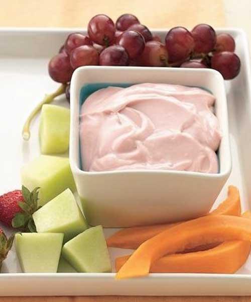 Recipe for Strawberry Lemon Fruit Dip