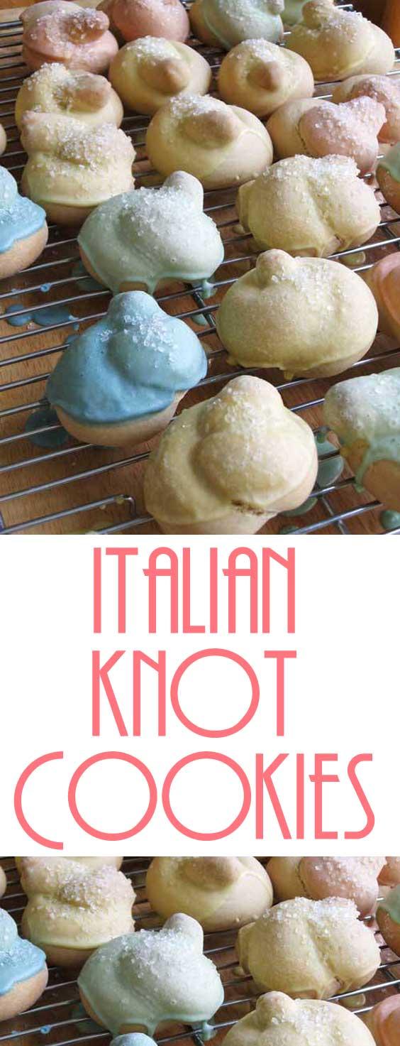 Itailan Knot Cookies