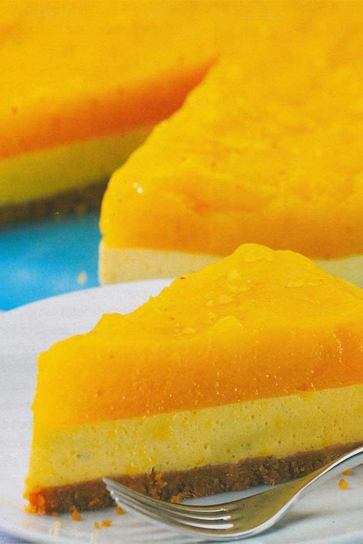 Jamaican Mango Cheesecake