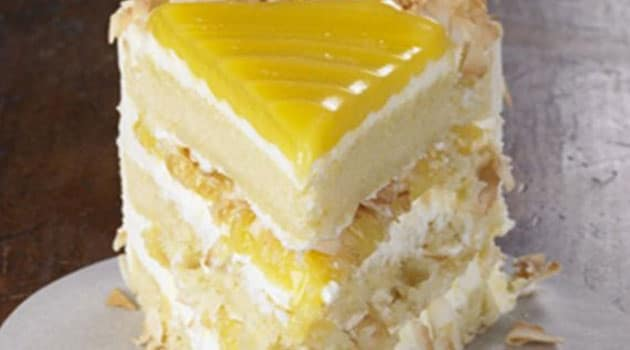 Lemon Coconut Cake Recipe Flavorite