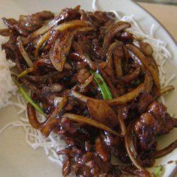 Recipe for Mongolian Beef