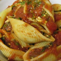 Recipe for Spinach Stuffed Shells