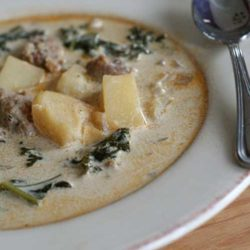 Recipe for Crockpot Zuppa Toscana