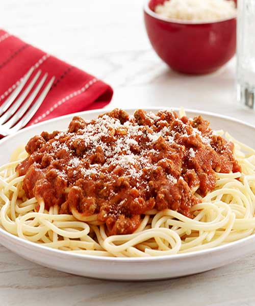 Recipe for Old Fashioned Spaghetti - Sometimes you just want a super fast meal, and it has to be yummy too.