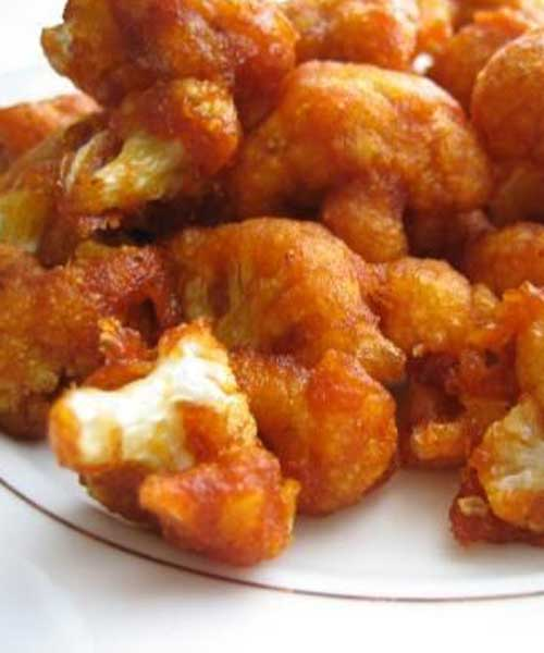 Recipe for Chili Cauliflower Stir-Fry - No need to have boring ole cauliflower when you have these recipe. WARNING: There is some serious heat to be had here!