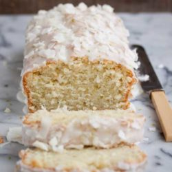 Recipe for Lime-Coconut Quick Bread - Oh my gosh you guys, this bread is amazing! I wish I could have bottled up the smell in my kitchen while I was making it because it smelled like a delicious tropical paradise.