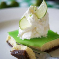 Recipe for Glorious Key Lime Bars - These are so smooth. So creamy. So rich and dreamy. So bursting with juicy freshness. Once you have a bite, it's really all but impossible to stop. Oh lawd, I have to fan myself just thinking about it.