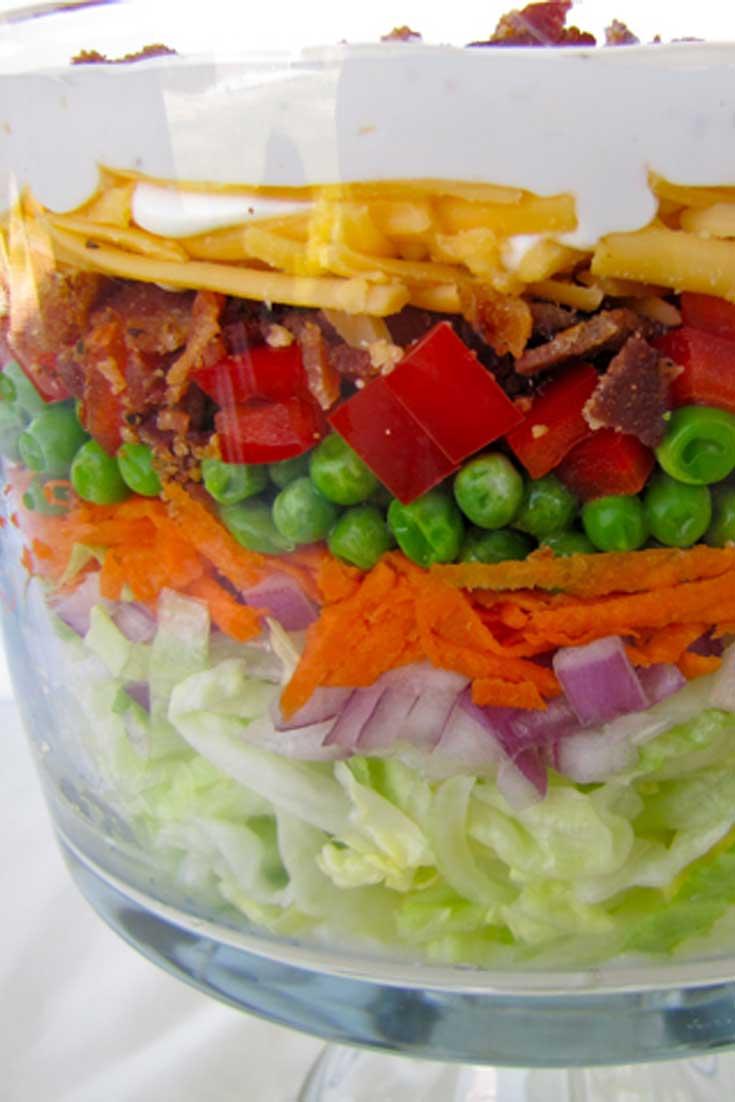 Layered Picnic Salad