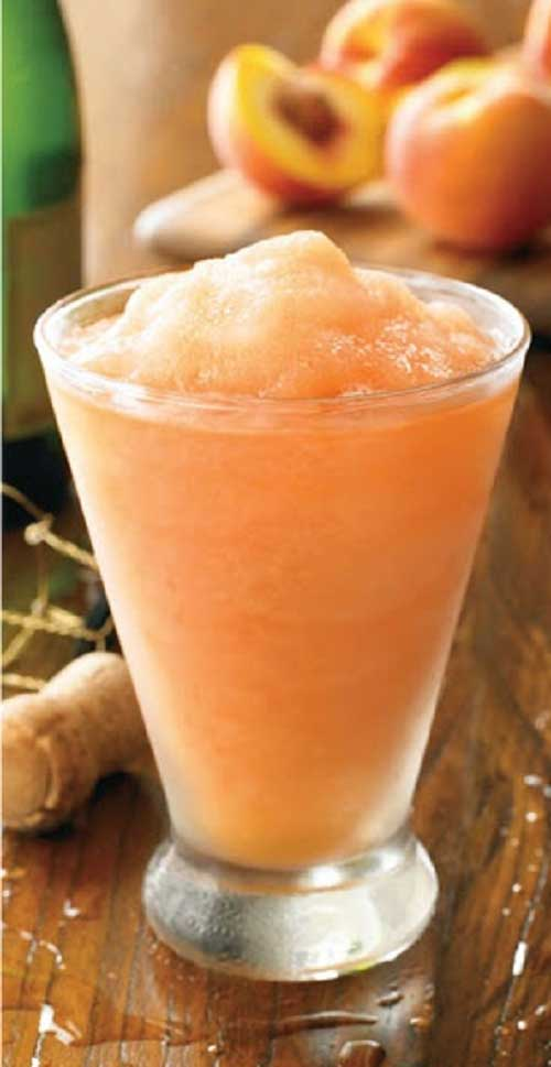 I adore frozen peach bellini's and this Australian Peach Bellini recipe is very close to my favorite restaurant's drink.