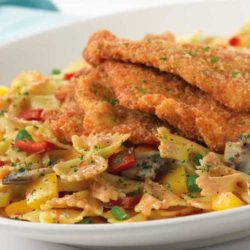 One of my all time favorite pasta dishes is Cheesecake Factory's Louisiana Chicken Pasta. The taste is out of this world. The spicy flavor and perfectly cooked pasta brings home the meaning of a hearty meal for me.