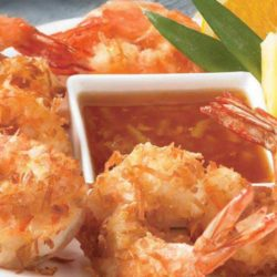These are tender crispy shrimp with a light flaky coconut coating on the outside. And with this recipe for Copycat Outback Steakhouse Coconut Shrimp there is no need to visit the steakhouse to have them!