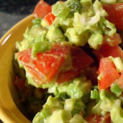 Recipe for Super Simple Guacamole - This easy recipe lets the creamy, rich avocado flavor take center stage. It's a great complement to any Mexican meal, & also makes a great sandwich spread.