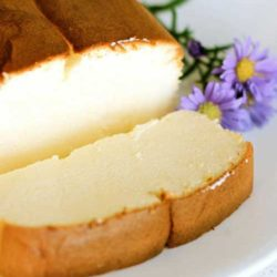 You'll love it if you are a fan of lighter, springy cakes. I also love this version because it calls for less eggs than most recipes for Japanese cheesecake! Beware though, it is likely that you'll have the whole loaf to yourself in one sitting!