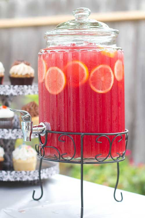 We made the best juice mixture I've ever tasted. Hands down. This Pink Lemonade Sparkling Fruit Punch is a perfectly refreshing non-alcoholic beverage that was sweet and sparkly with just the amount of tart to give it that little kick. Delicious!