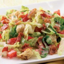 Recipe for BLT Salad - The whole family will love this quick and easy recipe based on the classic BLT sandwich.