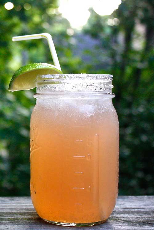 Recipe for Cherry Lime Coronarita - The flavor combination going on here is extremely refreshing and perfect for a summer day! But sip slowly, because this drink has a serious kick and will getcha faster than you think!
