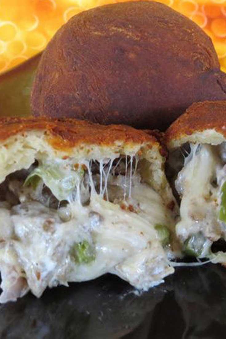 Deep Fried Philly Cheese Steak Balls