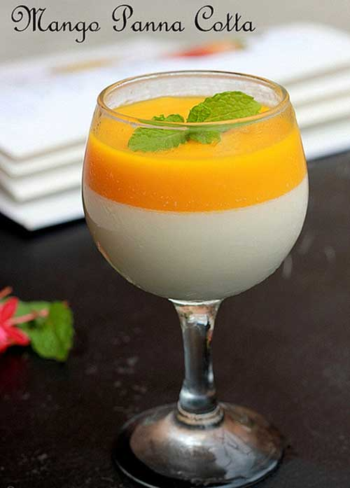 Mango Panna Cotta Recipe Flavorite