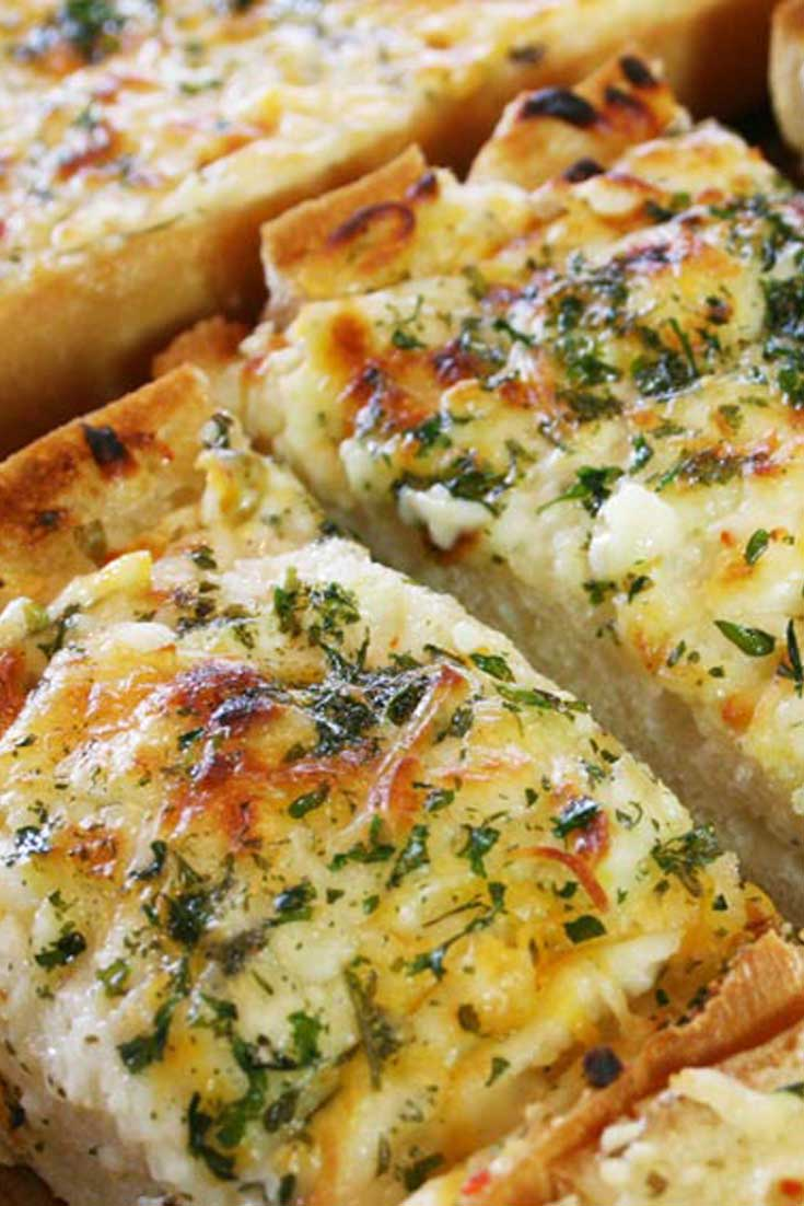 Bubbly Cheese Garlic Bread Recipe Flavorite