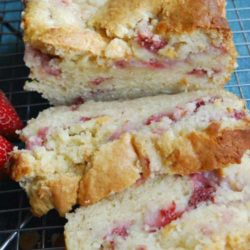 There are so many recipes on Pinterest that I can't wait to try. This Strawberry Cream Cheese Bread was one of the recipes I have been dying to make and it turned out really good.