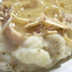 Loved this Simple Crock Pot Chicken! This recipe is a good starting point many recipes, so feel free to add vegetables if you like. You may also use any chicken part for this recipe.