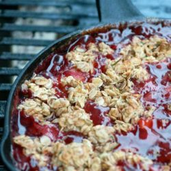 Recipe for Old Fashioned Mixed Fruit Cobbler - An old fashioned cobbler can be one of the easiest and tastiest ways to feature seasonal fruits, and this one is beyond fantastic.