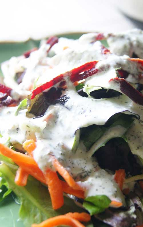 Cool Cucumber Dill Dressing