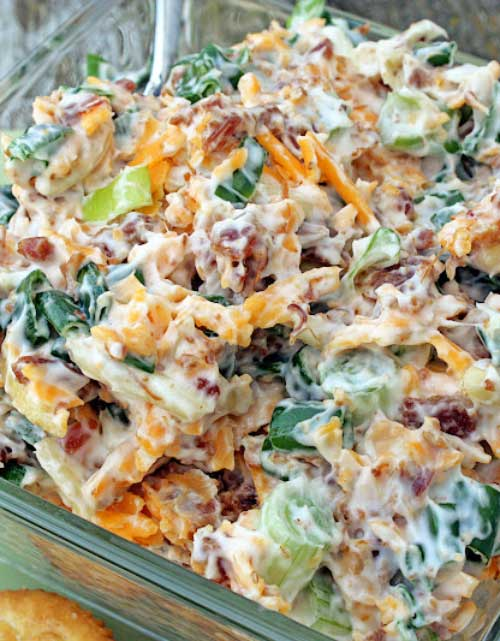 Recipe for Neiman Marcus Dip - Neiman Marcus Dip or in The South it is known as Get Your Man Dip. This dip sounds really good!!! Easy and quick to make!