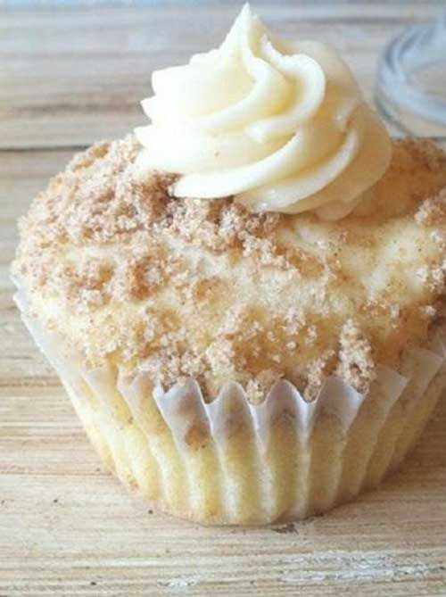 When I make these New York Style Cheesecake Cupcakes people just RAVE about them! The crumbled graham crackers sprinkled on top add the flavor of a cheesecake base.