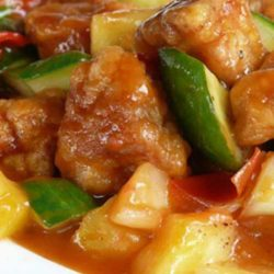 Recipe for Sweet and Sour Pork - Sweet and sour pork is one delicious dish, and my sons tell me this dish tasted just like the one at the restaurants.