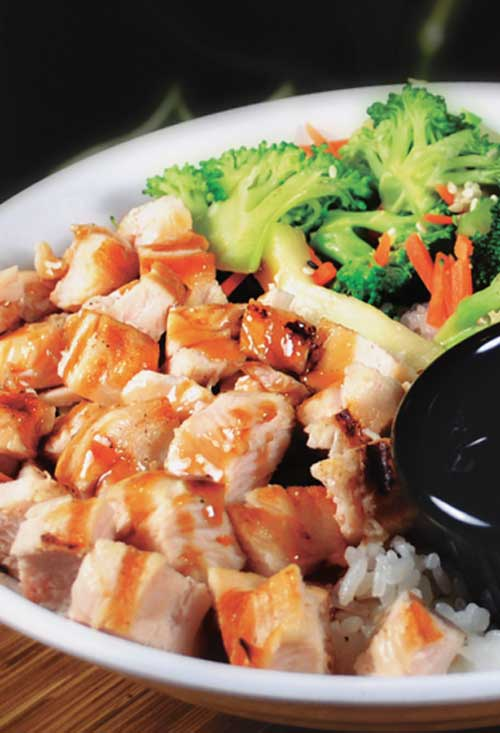 Hawaiian Chicken Rice Bowls