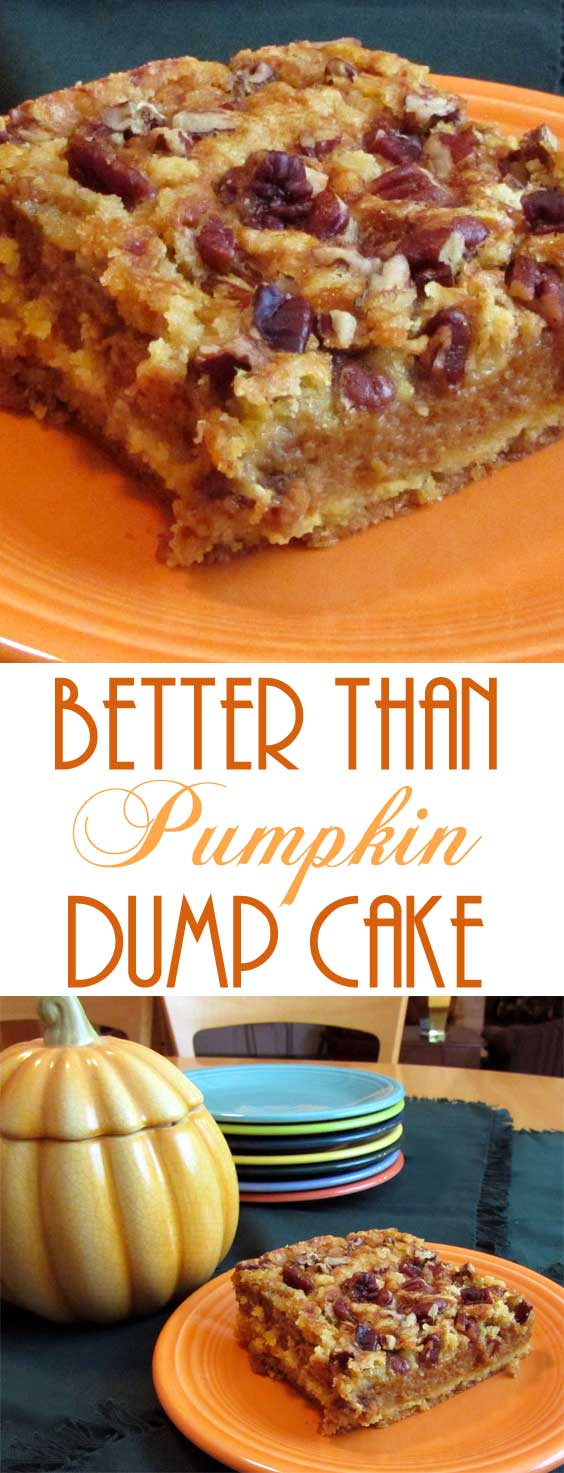 Better Than Pumpkin Dump Cake