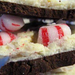 This Peppermint bark recipe was so easy to make! It was my first year making it and I will definitely do it again. The only hard part is crushing all the little peppermint hard candies.