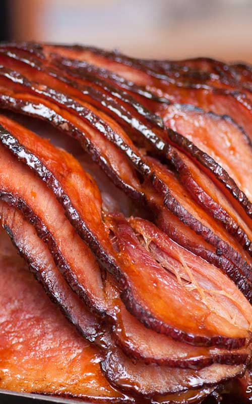 Succulent and full of flavor, this Homemade Southern Honey Glazed Ham is the perfect centerpiece to any holiday feast.
