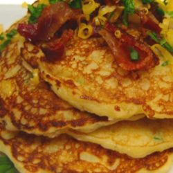 If you've never tried potato pancakes from Perkins or any restaurant, now's the time. This is a tasty, classic breakfast recipe that doesn't necessarily have to be for breakfast.
