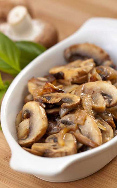 Recipe for Sauteed Mushrooms - This is one of the easiest and most yummy ways to enjoy your mushrooms. Delicious as a side, an appetizer, or added to a salad.