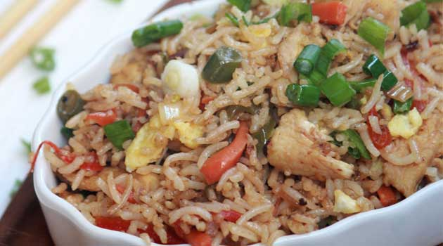 Healthy And Easy Chicken Fried Rice Recipe Flavorite